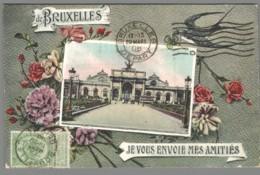 CPA Belgique - Bruxelles - Je Vous Envoie Mes Amitiés - Autres