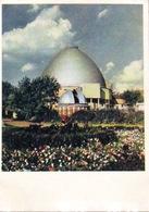 Moskau UdSSR Alte Postkarte Planetarium Orrery 1955 - Astronomie