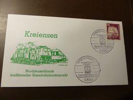 Brief Eisenbahn Kreiensen Eisenbahnknotenpunkt  1982  #cover4437 - Trains