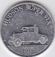 USA - Jeton Publicitaire En Métal - Sunoco - Antique Car Coin Series 2 - Hudson Super Six 1918 - Automobile - Non Classés