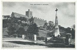 The University, Bangor - Caernarvonshire