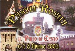 Cento (FE) 2003 - Il Palio Di Cento - Pasqua Rosata - - Manifestazioni