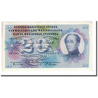 Billet, Suisse, 20 Franken, 1955-07-07, KM:46b, TTB+ - Suisse
