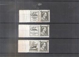 Belgium - PU107/108 + PU 112 - XX/MNH - CV:111.00 (légères Adhérences Au Verso) - Publicités