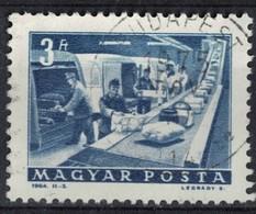 Hongrie 1964 Oblitéré Used Tapis Roulant Pour Distribution De Colis Postaux SU - Hungary
