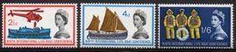 GREAT BRITAIN 1963 Ninth International Lifeboat Conference (phosphor) - Nuovi