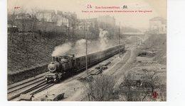 Les Locomotives  Train De Ceinture Entre Ouest-ceinture Et Vaugirard. - Trains