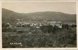 VISTA AEREA DE LA FALDA, CORDOBA, ARGENTINA. CIRCA 1929 POSTAL POSTCARD B/N TBE -LILHU - Argentinië