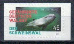 Deutschland 'Gefährdete Walart, Schweinswal' Skl. / Germany S/A 'Endangered Whale Species, Harbour Porpoise' **/MNH 2019 - Baleines