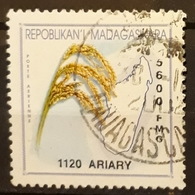 MADAGASCAR Rice. USADO - USED. - Madagascar (1960-...)