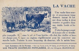 MARSEILLE - Les Tracts Zoophiles Populaires - Marseille