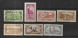 Syrie   1929  Exposition De Damas      Cat Yt N°  192  à 198   Obli Ou N* MLH - Syrie (1919-1945)