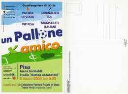 """Pisa 2004 - Quadrangolare Di Calcio """" Un Pallone X Amico - - Manifestazioni"""