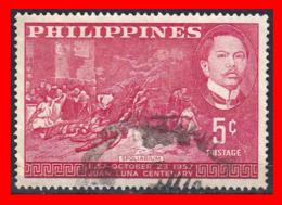 "PHILIPPINES SELLO AÑO 1957 ""SPOLIARIUM"" BY JUAN LUNA - Filipinas"