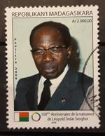 MADAGASCAR 2006 The 100th Anniversary Of The Birth Of Leopold Sedar Senghor, 1906-2001. USADO - USED. - Madagascar (1960-...)