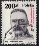 Pologne 1988 Oblitéré Used Jozef Pilsudski Militaire Homme Politique - 1944-.... République