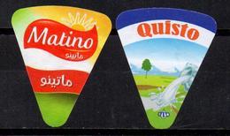 ALGERIA 066 - ETIQUETTE FROMAGE LABEL CHEESE KÄSE Queso Formaggio Kaas Portions Etiquettes Labels Käse-Etiketten - Fromage