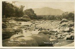 """AGUILA BLANCA"" EN CAPILLA DEL MONTE, CORDOBA, ARGENTINA. CIRCA 1929 POSTAL POSTCARD B/N TBE -LILHU - Argentinië"