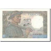 France, 10 Francs, 10 F 1941-1949 ''Mineur'', 1946-12-19, SUP+, Fayette:8.16 - 10 F 1941-1949 ''Mineur''