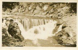 CASCADA LA TOMA EN CAPILLA DEL MONTE, CORDOBA, ARGENTINA. CIRCA 1929 POSTAL POSTCARD B/N TBE -LILHU - Argentinië