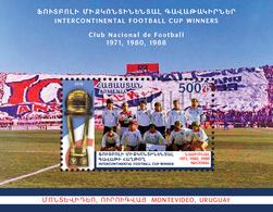 Armenia Arménie Armenien 2018 Mi 1101 Sport Football FIFA Club World Cup Nacional Montevideo Uruguay MNH** - Arménie