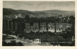 ALREDEDORES DEL PALACE HOTEL - LA CUMBRE F.C.C.N.A., CORDOBA, ARGENTINA. CIRCA 1929 POSTAL POSTCARD B/N TBE -LILHU - Argentinië