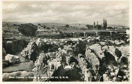 PUENTE Y CAJONES (900 MT. S.N.M.) MINA CLAVERO, CORDOBA, ARGENTINA. CIRCA 1929 POSTAL POSTCARD B/N TBE -LILHU - Argentinië