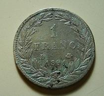 France 1 Franc 1831 D Silver - France
