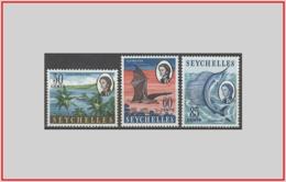 Seychelles GB 1968 - Cat. 236/38 (MNH **) Soggetti Vari - Soggetti Vari (011926) - Seychelles (...-1976)