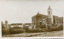 FAMILIA E IGLESIA EN ISCHILIN CORDOBA ARGENTINA. YEAR 1935 PHOTO FOTO B/N TBE -LILHU - Places