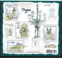 France 2008 Bloc Feuillet N° 126 Neuf Prague à La Faciale - Sheetlets