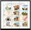 ESPAÑA 2001 - PATRIMONIO MUNDIAL DE LA HUMANIDAD  - Edifil Nº 3843-3854 - YVERT 3398-3409 - Arquitectura