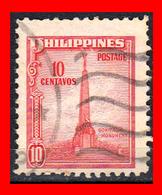 PHILIPPINES SELLO AÑO 1947 BONIFACIO MONUMENT - Filipinas