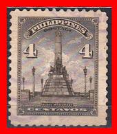 PHILIPPINES SELLO AÑO 1947 RIZAL MONUMENT - Filipinas