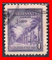 PHILIPPINES SELLO AÑO 1947  AVENUE OF PALMS - Filipinas
