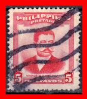 PHILIPPINES SELLO AÑO  1952-60 MARCELO H. DEL PILAR - Filipinas