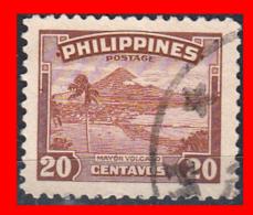 PHILIPPINES SELLO AÑO   1952-60 MAYON VOLCANO - Filipinas