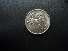 SLOVÉNIE : 10 TOLARJEV  2001   KM 41    Non Circulé - Slovenia