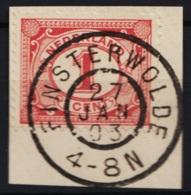 Grootrond GRHK 245 Finsterwolde Op 51 - Marcophilie