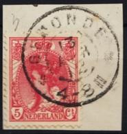 Grootrond GRHK 258 Gemonde Op 60 - Marcofilia