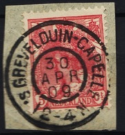 Grootrond GRHK 283 ' S-Grevelduin-Capelle Op 60 - Poststempel
