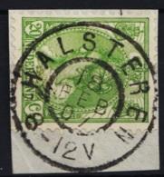 Grootrond GRHK 305 Halsteren Op 68 - Marcophilie