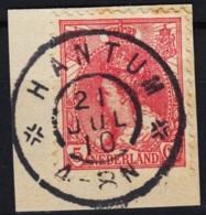 Grootrond GRHK 307 Hantum Op 60 - Marcophilie
