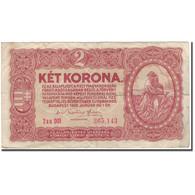Billet, Hongrie, 2 Korona, 1920-01-01, KM:58, B+ - Hongrie