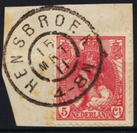 Grootrond GRHK 352 Hensbroek Op 60 - Marcophilie