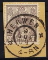Grootrond GRHK 356 Herwen Op 62 - Marcophilie