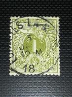 COB N ° 42 Oblitération Forchies La Marche - 1869-1888 Lion Couché