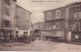 Remuzat Place De La Poste - Autres Communes