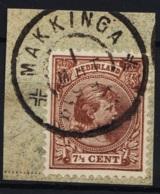 Grootrond GRHK 498 Makkinga Op 36 - Poststempels/ Marcofilie