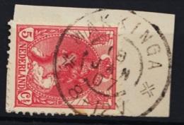 Grootrond GRHK 498 Makkinga Op 60 - Poststempels/ Marcofilie